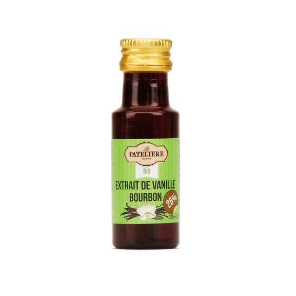 Extrait de vanille bourbon bio 25%