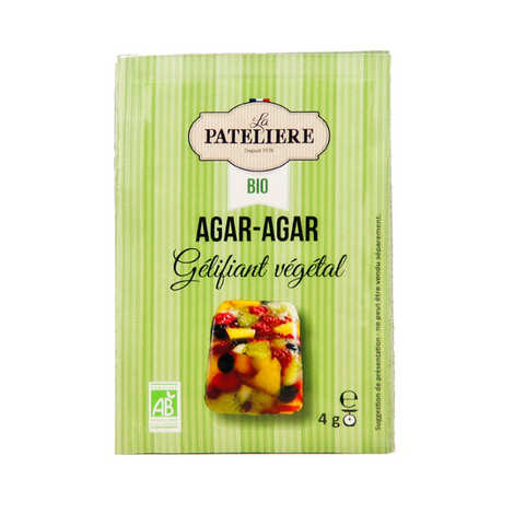 La Patelière bio - Organic agar agar in bags
