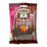 La Patelière bio - Organic Chocolate drops - 50%