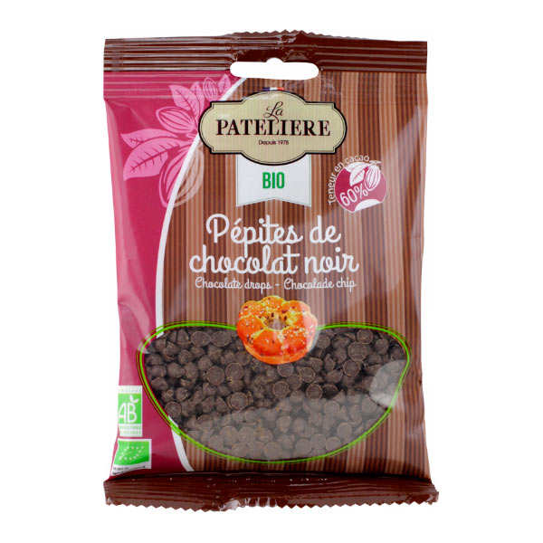 Organic Chocolate drops - 50%