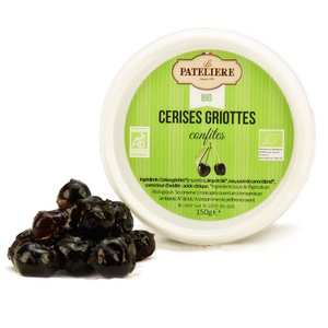 La Patelière bio - Organic Candied Cherries