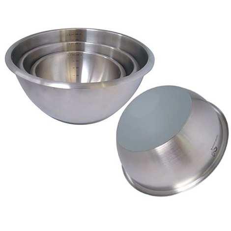 de Buyer - Bowl with a flat bottom