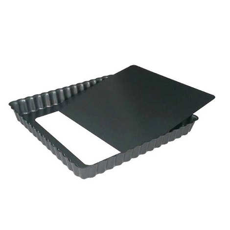 de Buyer - Square Tart Mould with Removable Bottom