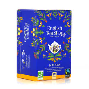 English Tea Shop - Organic Earl Grey - muslin bag