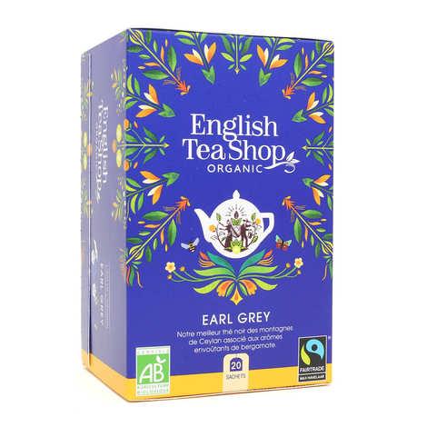 English Tea Shop - Thé Earl Grey bio en sachets