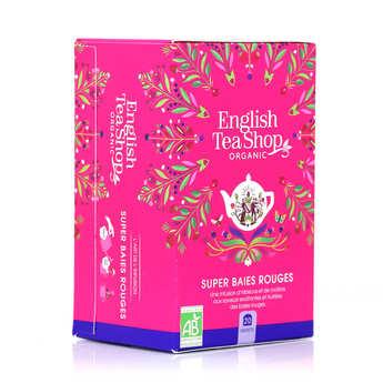 English Tea Shop - Organic Super Berries Herbal Tea - muslin bag