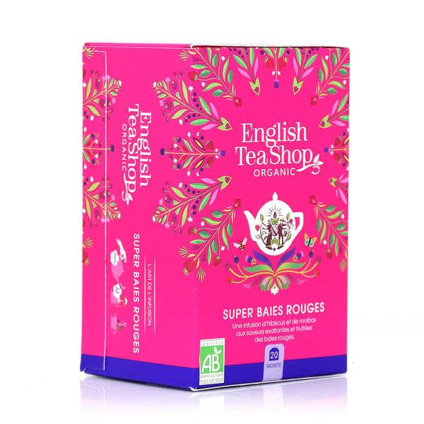Organic Super Berries Herbal Tea - muslin bag