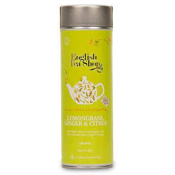 English Tea Shop - Organic Lemongrass, Ginger and Citrus Infusion - Metal box