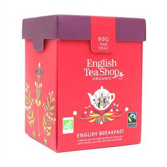 English Tea Shop - Thé English Breakfast bio - Boite métal