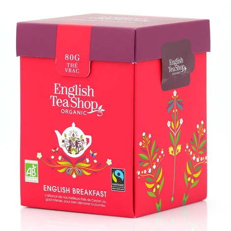 English Tea Shop - Thé English Breakfast bio - Boite vrac