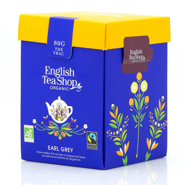 Organic Earl Grey - Metal box