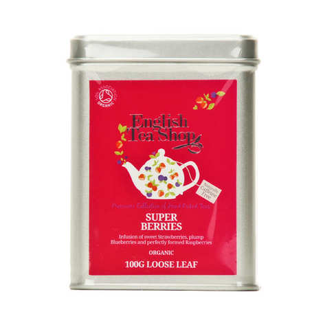 English Tea Shop - Organic Rooibos tea with berries - box