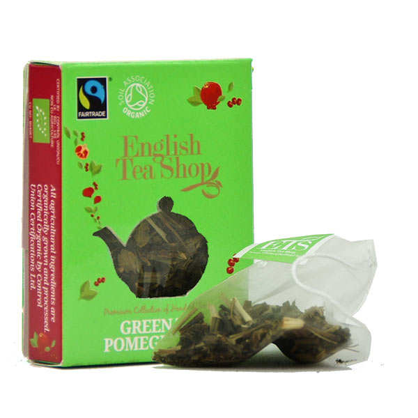 Organic Ceylon Green Tea to Pomegranate - Bag