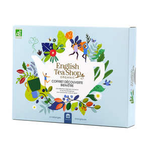 English Tea Shop - Organic Wellness Tea Collection - 48 bags 6 aromas