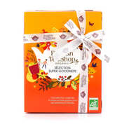 English Tea Shop - Coffret super fruits de 12 sachets pyramides - 6 parfums