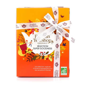 Coffret super fruits de 12 sachets pyramides - 6 parfums