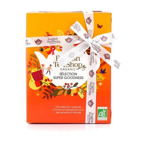 English Tea Shop - Coffret d'infusions bio bienfaisantes -12 sachets pyramides - 6 parfums