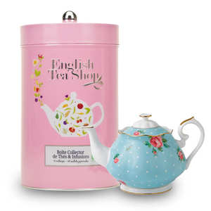 English Tea Shop - Boite collector géante de thé et infusions bio (48 sachets)