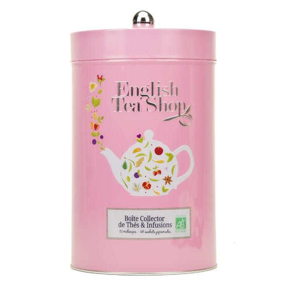 Boite collector géante de thé et infusions bio (48 sachets)