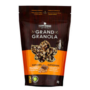 Fourmi Bionique - Granola gourmet euphorique - Chocolat au lait, caramel