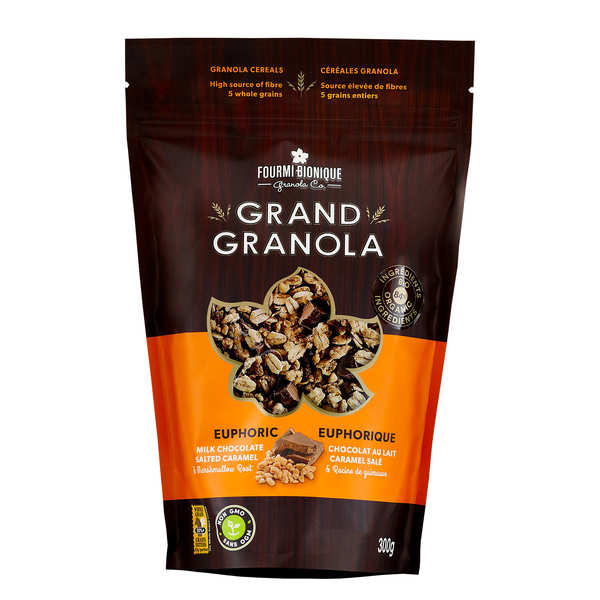 Ecstatic Cereal Mixture Granola