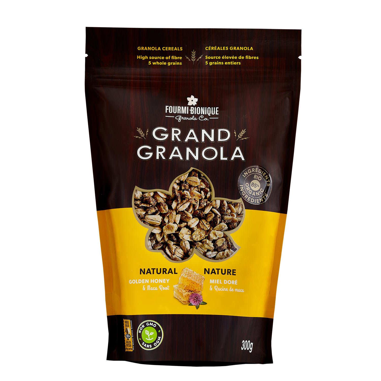 Granola gourmet nature - Miel et maca