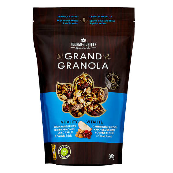 Vitality Cereal Mixture Granola