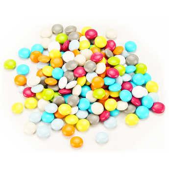 Les Gourmandises de Sophie - Bonbonnière de confettis colorés au chocolat