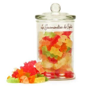 Les Gourmandises de Sophie - Bonbonnière de mini oursons gélifiés