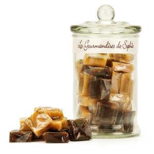 Les Gourmandises de Sophie - Bonbonnière de caramels assortis