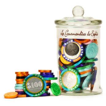 Les Gourmandises de Sophie - Milk chocolate coins
