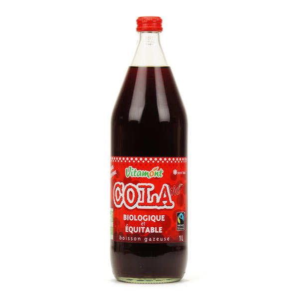 Organic Cola with Agave Syrup