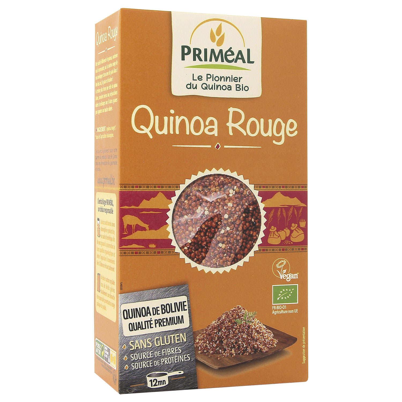 Quinoa rouge bio