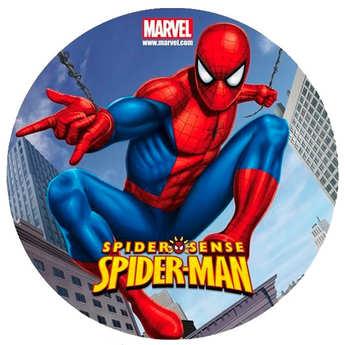 Dekora - Disque azyme Spiderman (disque en sucre décoré)