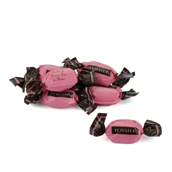 Sweets filled with the Pink Reims biscuit