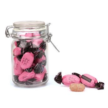 BienManger.com - Bonbons fourrés aux biscuits roses de Reims