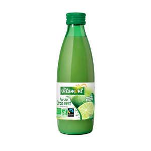 Vitamont - Pur jus de citrons vert bio