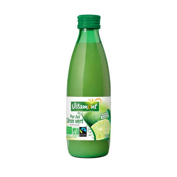 Pur jus de citron vert bio