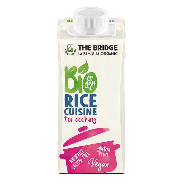Organic Rice cuisine - alternative cream