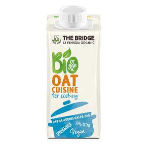 The Bridge Bio - Crème d'avoine cuisine - alternative bio à la crème fraiche