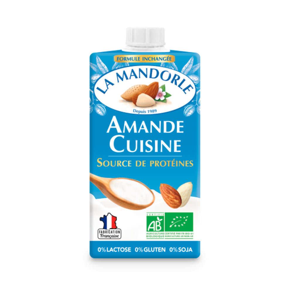 Amande cuisine - almond cream for cooking