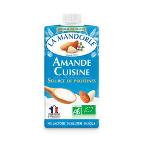 La Mandorle - Amande cuisine - crème d'amande bio pour la cuisine