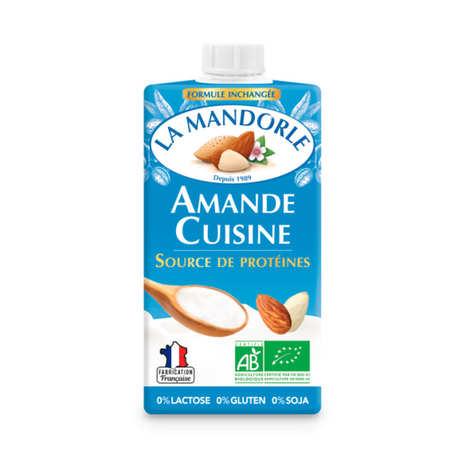 La Mandorle - Amande cuisine - almond cream for cooking