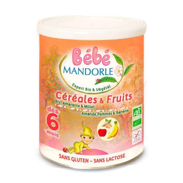 Préparation bio pour repas bébé dès 6 mois - Céréales & fruits