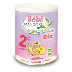 Bébé Mandorle - Organic Preparation for 2nd infant age - from 6 months
