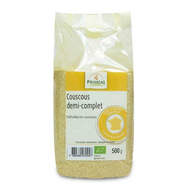 Half Full Organic Couscous of France