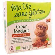 Ma vie sans gluten - Organic Filles biscuit - cocoa and hazelnuts Gluten free