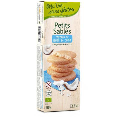 Ma vie sans gluten - Petits sablés bio à la noix de coco sans gluten
