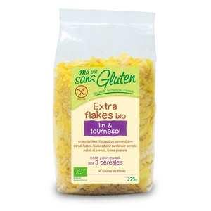 Ma vie sans gluten - Organic flakes linen and sunflower - gluten free
