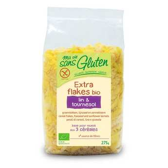 Ma vie sans gluten - Extra flakes bio lin et tournesol - sans gluten